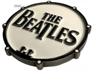 BEATLES DRUM LOGO BOTTLE OPENER