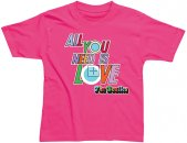 INFANT ALL YOU NEED IS LOVE T-SHIRT