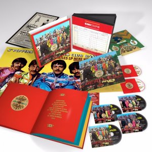 SGT. PEPPER SUPER DELUXE SET (50th ANNIVERSARY ED.)