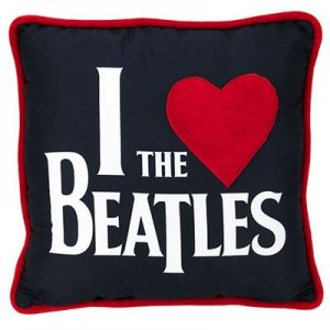 """I LOVE THE BEATLES"" PILLOW"