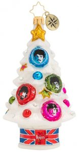 SGT. PEPPER TREE GLASS ORNAMENT