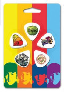 BEATLES ASSORTED STYLES GUITAR PICK SET