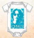 JOHN LENNON IMAGINE WHITE ONESIE