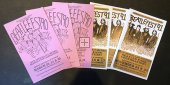 SET 8 OF ORIGINAL BEATLEFEST PROGRAM BOOKS 1990-1991
