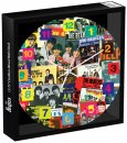 BEATLES SINGLES COLLECTION WALL CLOCK
