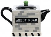 ABBEY ROAD SCULPTED CERAMIC TEAPOT