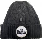 BEATLES DRUM LOGO CABLE KNIT BEANIE