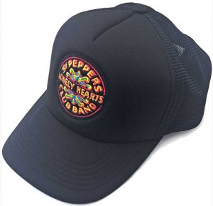 BEATLES SGT PEPPER BLACK HAT