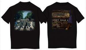 ABBEY ROAD ALBUM COVER FRONT & BACK