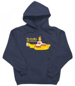 YELLOW SUBMARINE HOODED SWEATSHIRT
