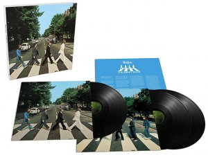 ABBEY ROAD 50TH ANNIVERSARY DELUXE ED. VINYL - 3 LP