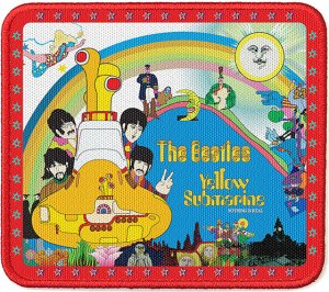 YELLOW SUBMARINE MULTI IMAGE PATCH