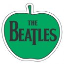 BEATLES GREEN APPLE LOGO PATCH
