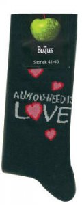 ALL YOU NEED IS LOVE SOCKS- MEN'S