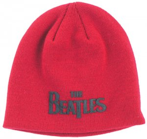 THE BEATLES RED BEANIE