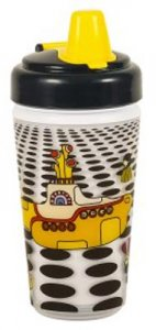YELLOW SUB SEA OF HOLES 10 oz. SIPPY CUP