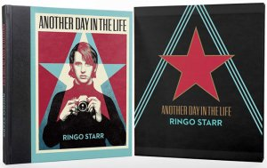 SIGNED BY RINGO: ANOTHER DAY IN THE LIFE PHOTO BOOK: