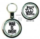 WAR IS OVER SPIN KEY CHAIN - Only 2 Left