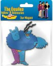 BLUE MEANIE CAR MAGNET