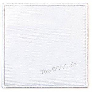 """WHITE ALBUM"" ALBUM COVER PATCH"