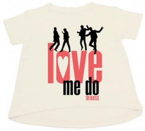 THE BEATLES LOVE ME DO CHILD TEE One Small Left