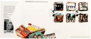 BEATLES STAMPS-1ST DAY COVER - Save 20%