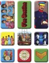 BEATLES SGT. PEPPER 9 PIECE MINI MAGNET SET