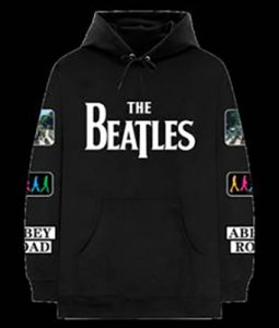 BEATLES LOGO HOODIE WITH PATCHES