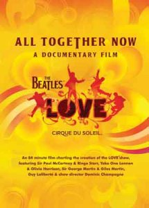 THE BEATLES LOVE - ALL TOGETHER NOW DVD
