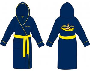 YELLOW SUBMARINE BATHROBE SIZE