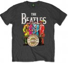 SGT. PEPPER SUITS & DRUM GREY T-SHIRT