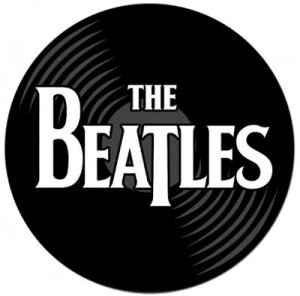 BEATLES RECORD MOUSE PAD