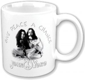 JOHN LENNON GIVE PEACE A CHANCE MUG