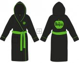 THE BEATLES APPLE LOGO FLEECE BATHROBE