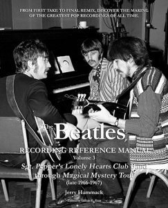 SIGNED: BEATLES RECORDING REFERENCE MANUAL. VOLUME 3