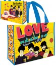 YELLOW SUBMARINE LARGE RECYCLED SHOPPER TOTE