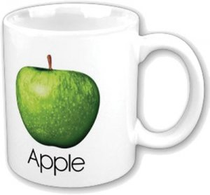 BEATLES APPLE WHITE MUG