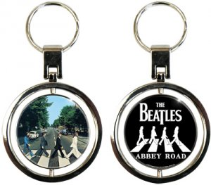 ABBEY ROAD SPIN KEY CHAIN