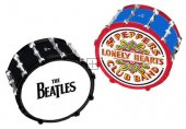 BEATLES DRUMS CERAMIC SALT & PEPPER SET