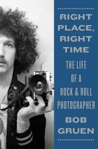 SIGNED: RIGHT PLACE, RIGHT TIME -by BOB GRUEN