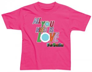 CHILD ALL YOU NEED IS LOVE T-SHIRT