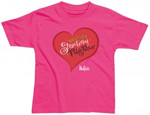 CHILD STRAWBERRY FIELDS FOREVER PINK T