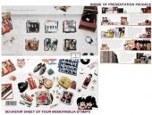 PRESENTATION PACK OF BEATLES STAMPS - Save 20%
