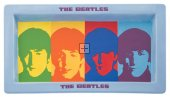 "BEATLES FACES 16"" CERAMIC SERVING PLATTER"