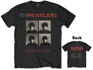 MEET THE BEATLES - 64 TOUR TEE