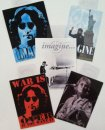 JOHN LENNON 3 STICKER SET