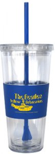 YELLOW SUBMARINE DOUBLE WALLED STRAW TUMBLER - Last One