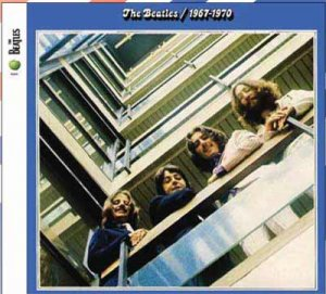 THE BEATLES 67-70 BLUE ALBUM 2 CD SET