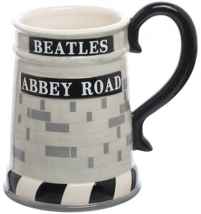 ABBEY ROAD 20 OZ SCULPTED CERAMIC MUG