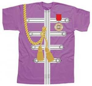 SGT. PEPPER PURPLE UNIFORM SUBLIMATION TEE